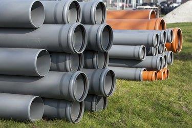 Construction equipment - pvc pipes
