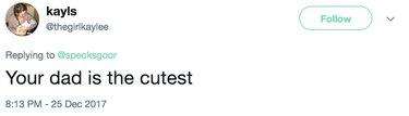 larry is the cutest tweet