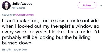 identifying with hopeful dog tweet