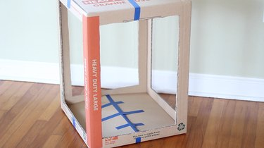 Four sides cut out of box