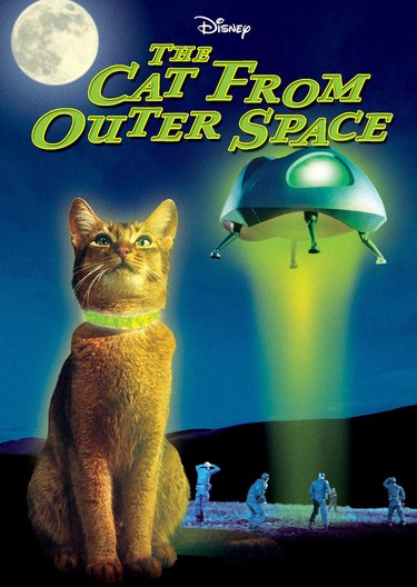 "Poster from Disney's ""The Cat From Outer Space""."