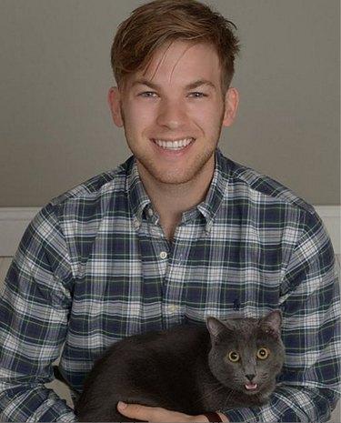 cat guy twins