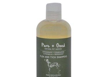 Natural flea and tick shampoo.