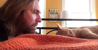 Guy Gets Revenge On Cat Who Keeps Waking Him At 4 A.M.