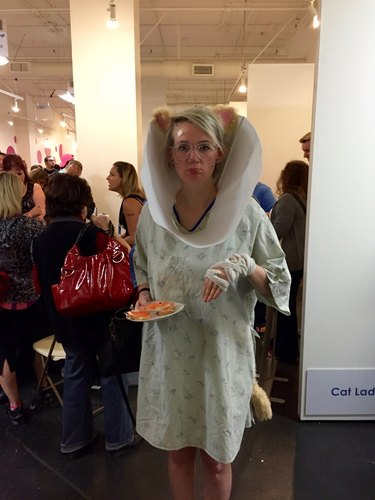 Cone of shame cosplay at CatCon 2015