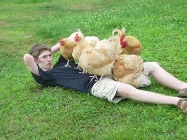 Chicks dig me.