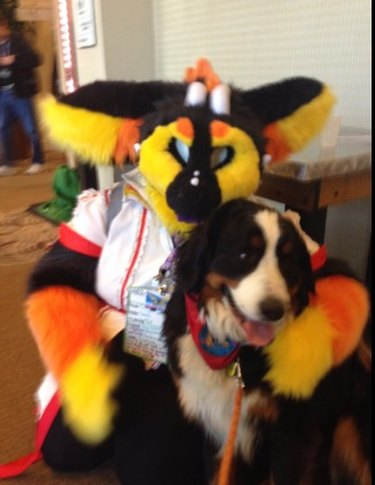 This Woman Brought Her Dog to a Furry Convention Because She Didn't Know What a Furry Convention Was