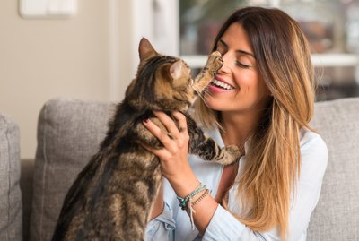 How Your Mood and Behavior Affect Your Cat