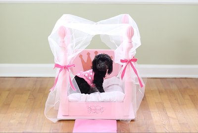 Turn An Old Table Into A Puppy Princess Palace