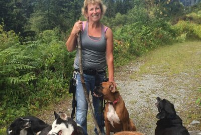 Lost & Injured Hiker Survives Harrowing Ordeal Thanks To Her 3 Dogs