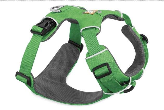 Green Ruffwear Front Range Harness