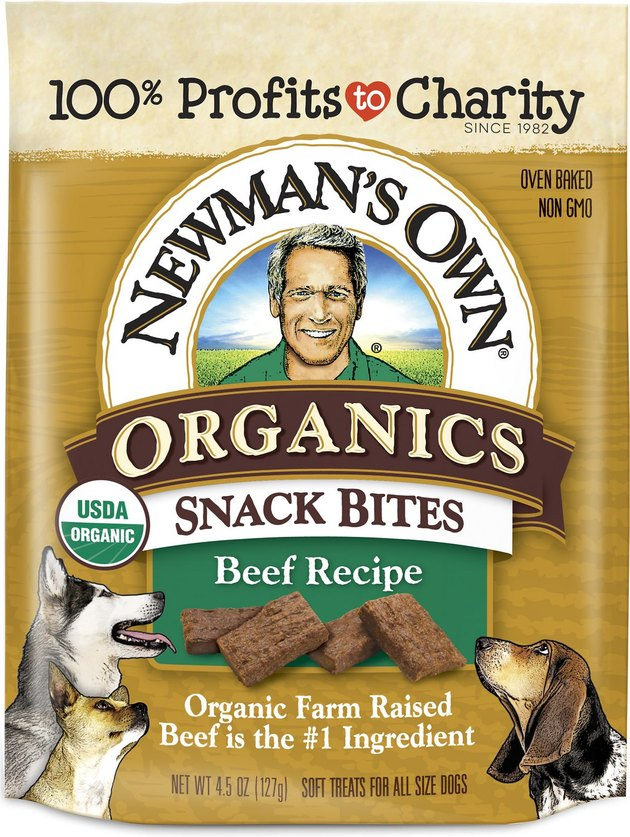 Newman's Beef Snack Bites for Dogs