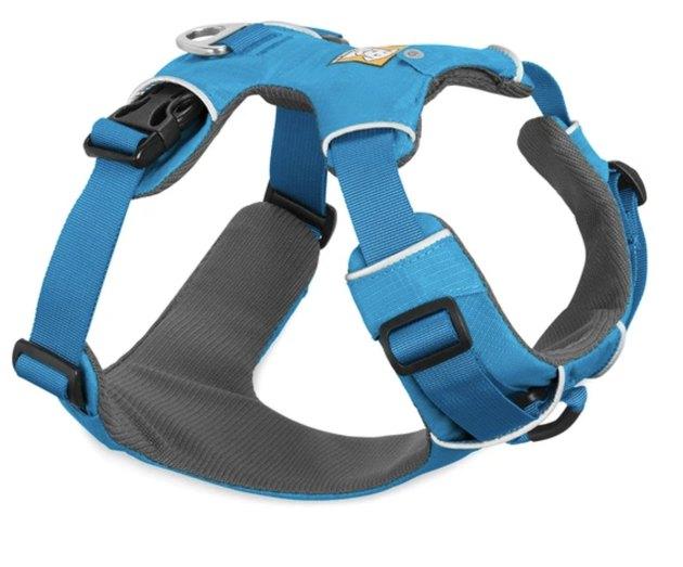 Blue Ruffwear Front Range Harness