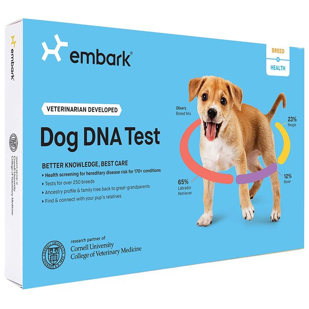 Box art from Embark Dog DNA Test