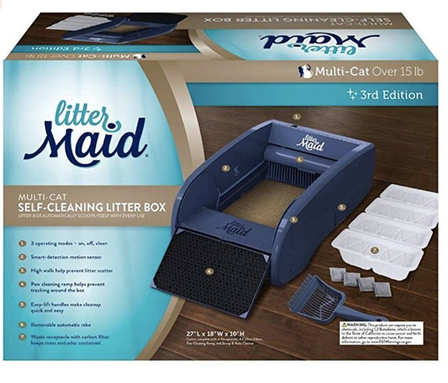 LitterMaid Self-Cleaning Litter Box