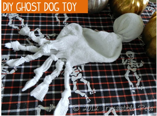 Howl-o-ween Ghost sock toy