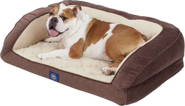 Serta Orthopedic Quilted Dog Couch Bed