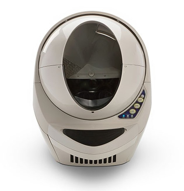 Litter Robot self-cleaning litter box.