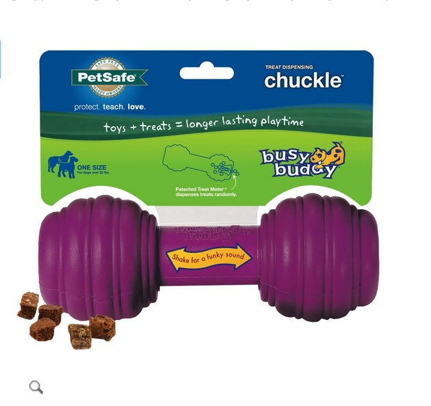 Chuckle dog toy