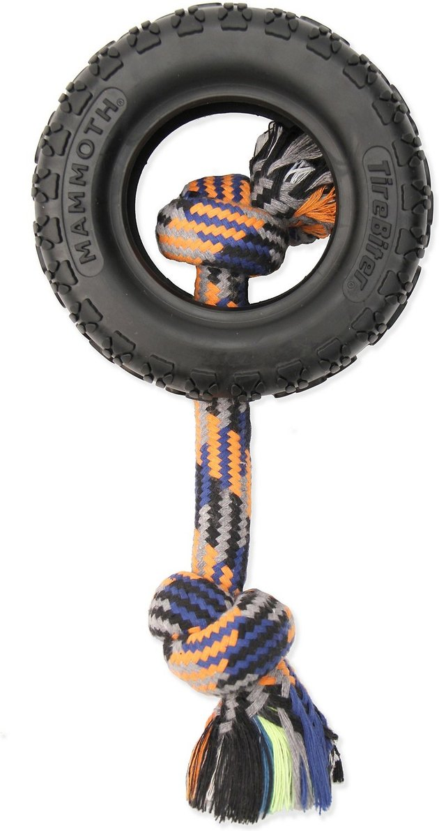 Mammoth Tirebiter II Rope Dog Toy