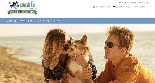 puplife.com homepage