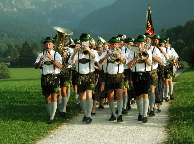 German marching band