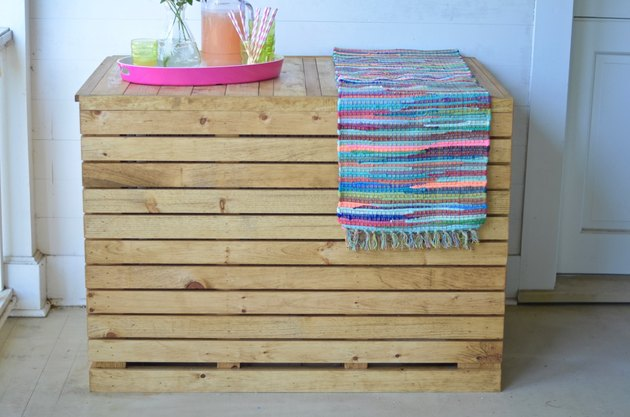 How To Make A DIY Wooden Dog Crate Cover
