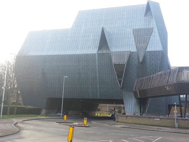 building in Coventry, England shaped like elephant