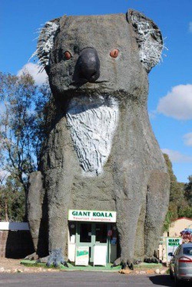Australia building shaped like koala bear