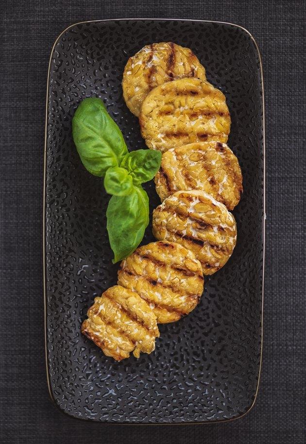Grilled Tempeh – vegan food