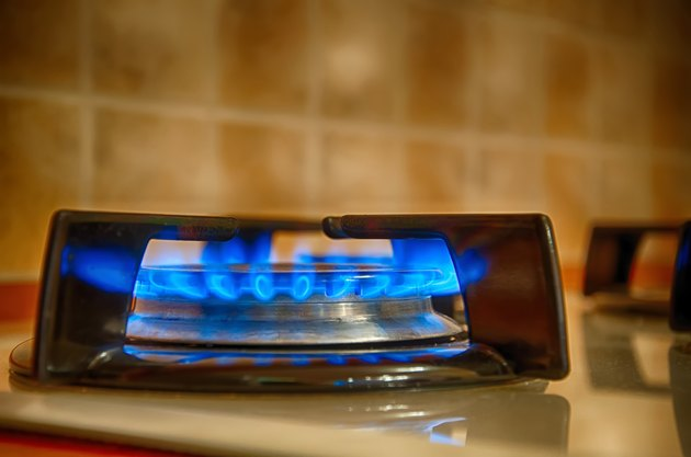 Gas On Kitchen