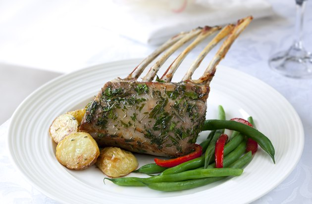 Rack of Lamb Dinner