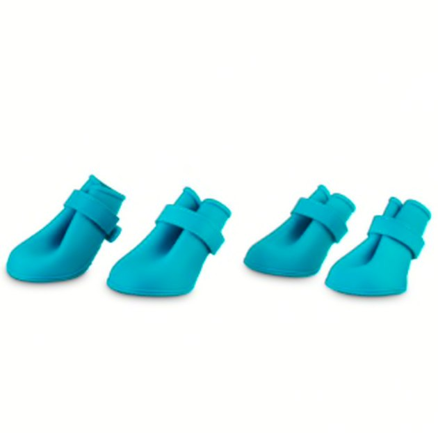 Good2Go Blue Silicone Dog Boots