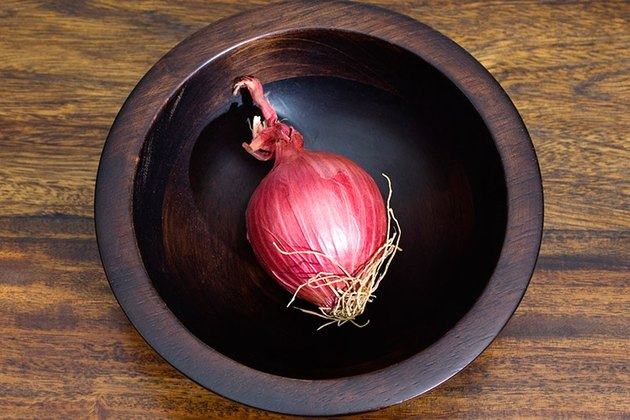 onion in a bowl
