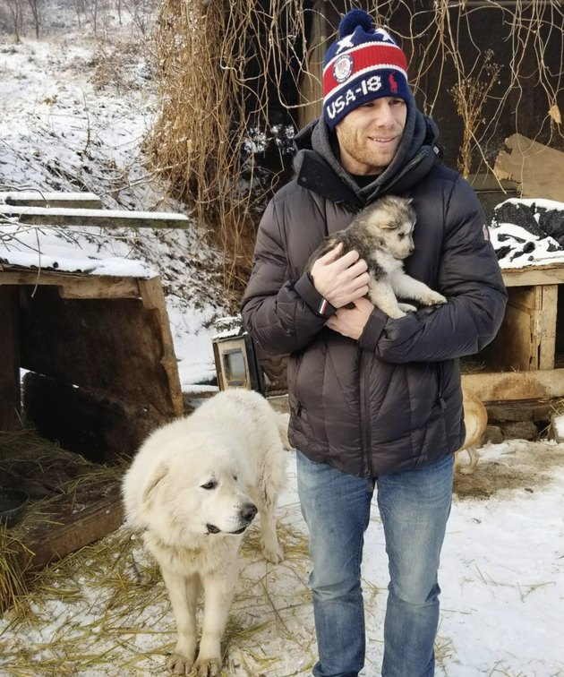 This Olympic Skier Saved a Puppy's Life While in South Korea