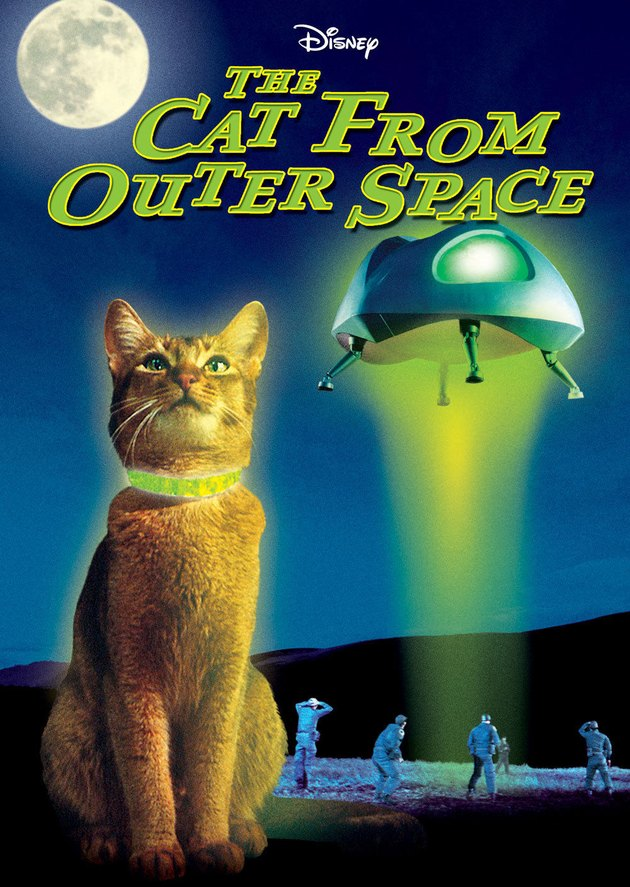 """Poster from Disney's """"The Cat From Outer Space""""."""