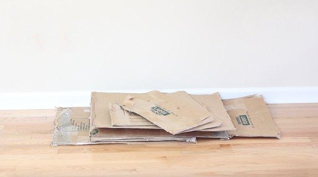 cardboard scraps
