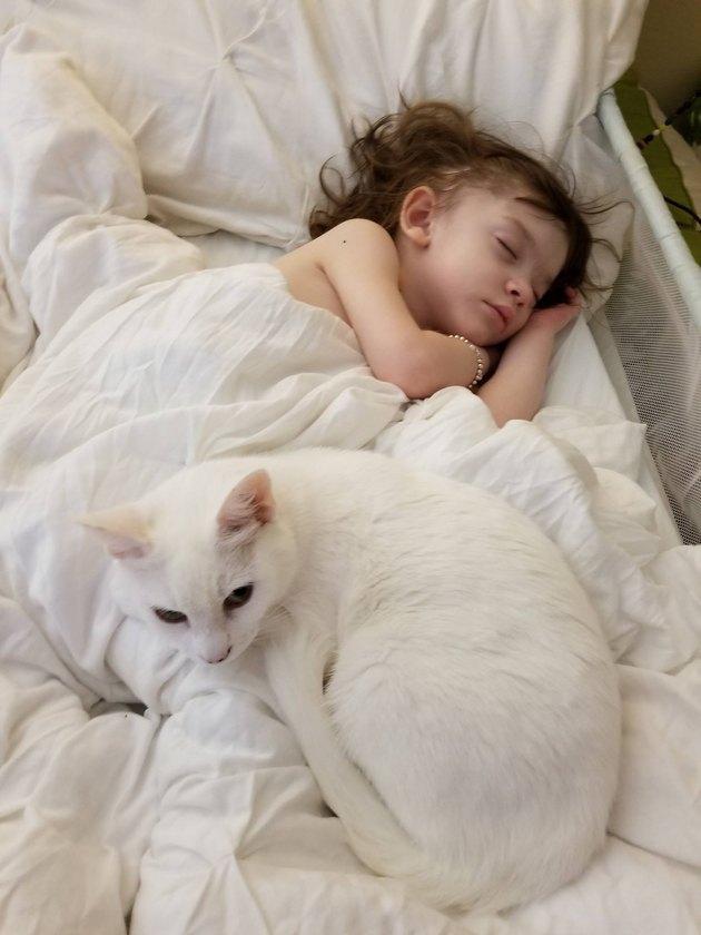 charley and angel cuddling