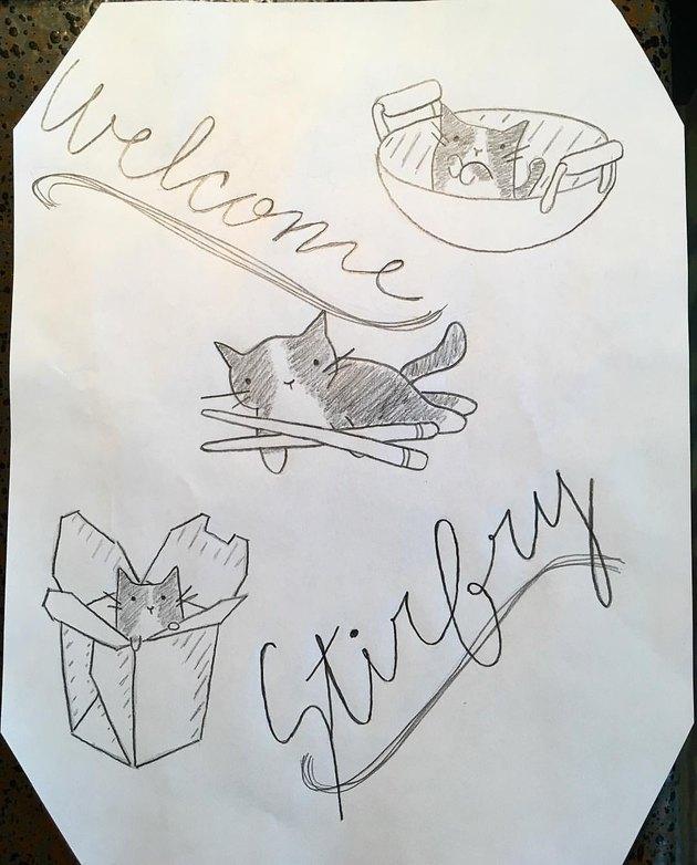 """Alton Brown names new kitten """"Stir-Fry"""""""