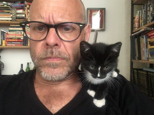 "Alton Brown names new kitten ""Stir-Fry"""