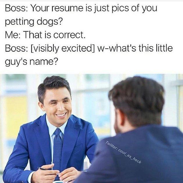 Men in suits talking.