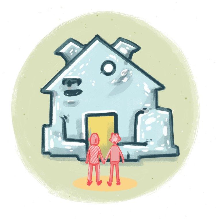 Pet-shaped house
