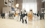 These Life-Sized LEGO Sculptures of Cats and Dogs Will Blow Your Mind