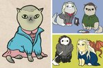 Amazing: Your Favorite TV Characters Imagined As Cats