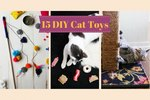 15 Fantastic DIY Toys For Your Cat