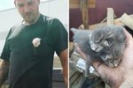 This Man Dug For Hours To Save Kittens Dumped In Trash