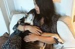 Salma Hayek Pens A Heartbreaking Tribute To Her Recently Deceased Dog, Lupe