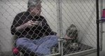 What This Man Does To Convince Rescue Dog To Eat Is SO Touching