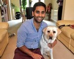 Blind Man Records Daily Commute With GoPro Attached To Guide Dog