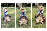 People Found A Way To Be Mad At A Baby Cowboy Riding A Tortoise